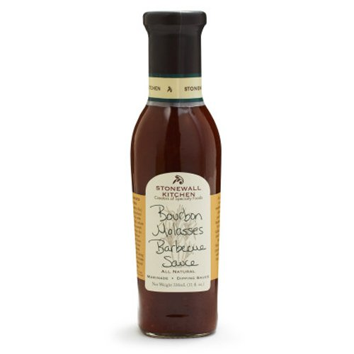 Stonewall Kitchen Sauce, Bourbon Molasses Barbecue, 11 Ounce