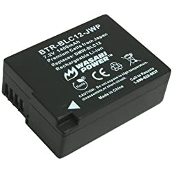 Wasabi Power Battery for Panasonic DMW-BLC12 DMW-BLC12E DMW-BLC12PP and Panasonic Lumix DMC-FZ200 DMC-G5 DMC-GH2