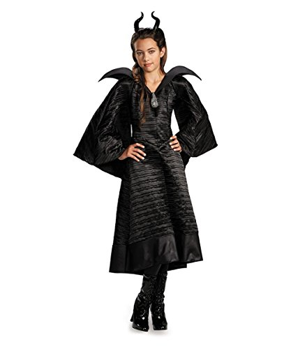 Disguise Inc - Maleficent Christening Deluxe Black Girls Dress Costume