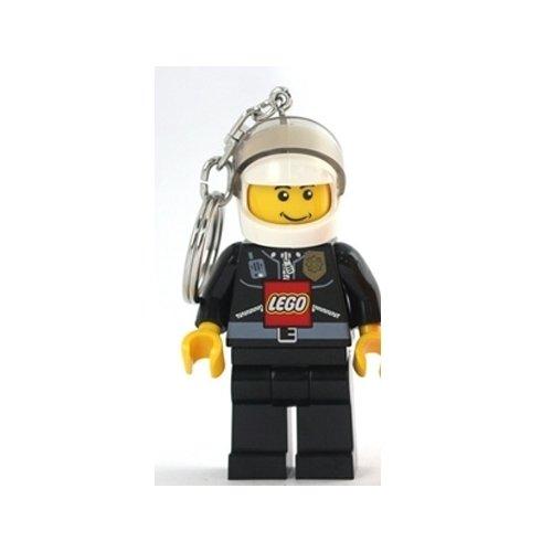 "Lego City Key Light ""Policeman"" Key Chain"