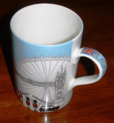 London Sights Fine Bone China Mug