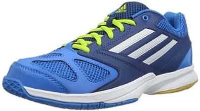 adidas Feather Team 2, Chaussures de handball homme - Bleu (SOLAR BLUE2 S14 / RUNNING WHITE FTW / TRIBE BLUE S14), 37 1/3 EU
