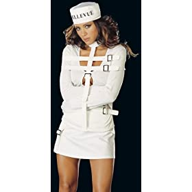 Product Store: Sexy Halloween Costumes Straight Jacket Buckle