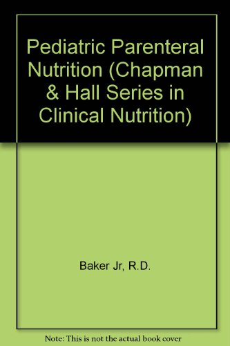Parenteral Nutrition In Children