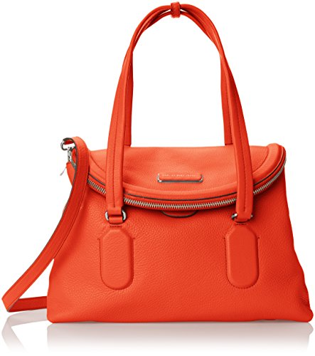 Marc By Marc Jacobs Silicone Valley Satchel Donna Arancione