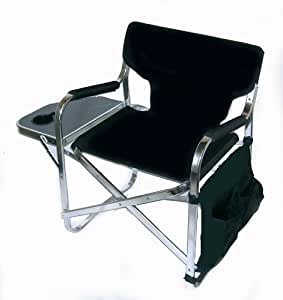 The PROFESSIONAL Directors Chair With Side Table Cup Holder And