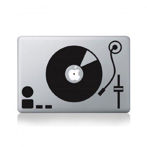 Record Turntable Macbook Pro Vinyl Decal (Dj Turntable Mac compare prices)