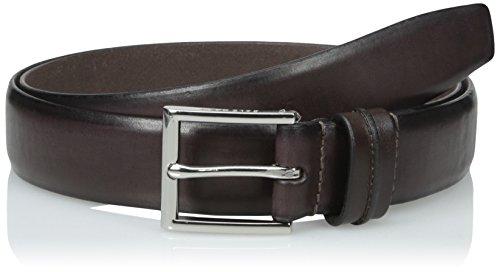 Cole Haan Men's 32mm Feather Edge Smooth Strap with Harness Buckle Belt, Dark Brown, 38 (Cole Haan Brown Belt compare prices)