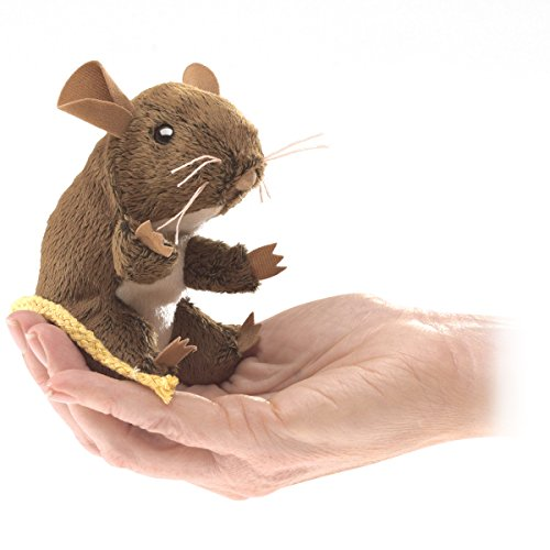 Folkmanis-Mini-Field-Mouse-Finger-Puppet
