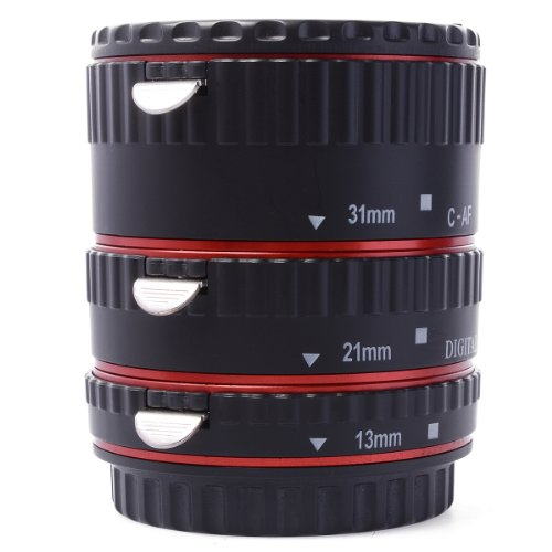 Metal Auto focus AF Macro Extension Tube Ring