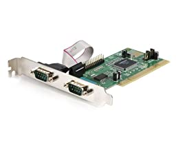 StarTech 2 Port 16C550 Serial and 1 Port EPP/ECP Parallel Slot Saver PCI Card (PCI2S1PVA)