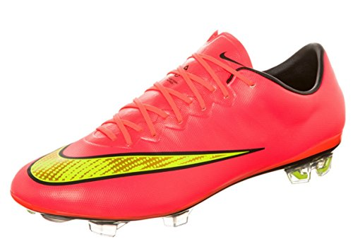 Nike Mercurial Vapor X FG Soccer Cleats (7) (Mercurial Vapor Red compare prices)