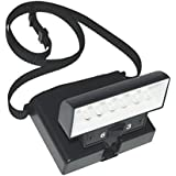 Beam n Read LED 6 Hands-Free Light; Extra Wide & Extra Bright Light from 6 LEDs Plus Clip-on Orange and Red Relaxation Filters