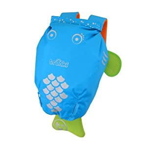 Trunki PaddlePak Water-Resistant Backpack - Bob (Blue)