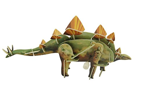 3D Dinosaur Wind Up Walking Puzzle - Stegosaurus