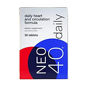 Neogenis Labs Neo40 Daily Heart and Circulation Formula, 30 Count