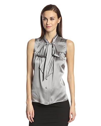 Zelda Women's Chiara Charmeuse Blouse with Tie