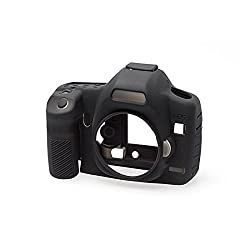EasyCover Silicone Camera Case for Canon 5D Mark II - Black