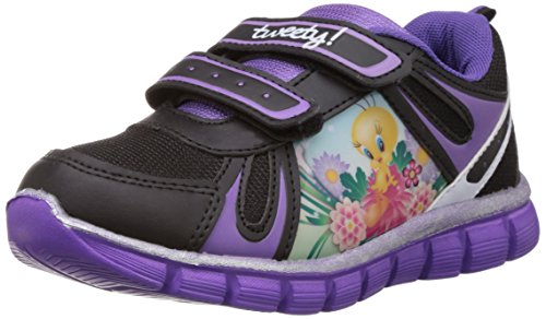 Tweety Tweety Girl's Chinese Shoes (Silver)