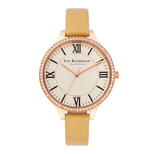 Joh. Rothmann Women's Watch Siggy stainless steel SWAROVSKI ELEMENTS IPRG/C 10030045