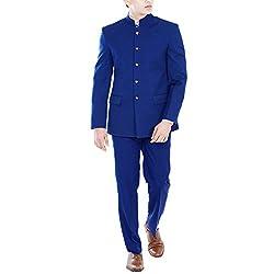 Premium Royal Blue Jodhpuri Suit