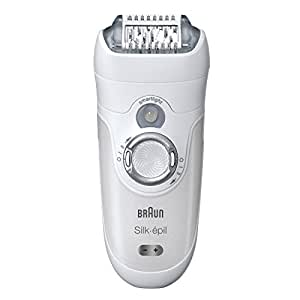 Braun SE 7681 Silk-Epil Wet and Dry Epilator (Silver)