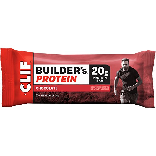 CLIF BUILDER'S - Protein Bar - Chocolate - (2.4 oz, 12 Count) (Cliff Bars Builder Bars compare prices)
