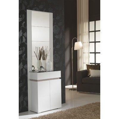 Garderoben-Set Farbe: Weiß / Eco
