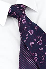 2 Pack Machine Washable Jacquard Ties