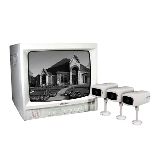 Samsung SSC-12 12-inch B/W Observation System with 3 Weather-resistant