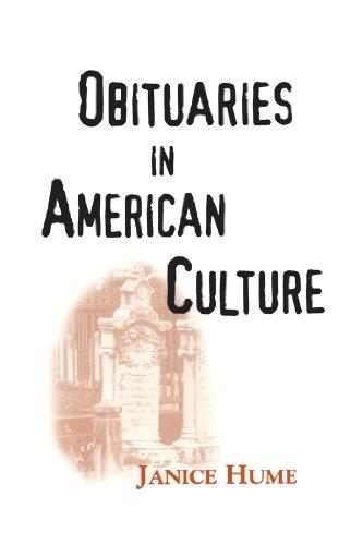 Obituaries in American Culture