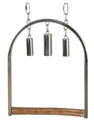 Cheap Paradise Toys Large Stainless Steel Swing, 12-Inch W by 15-Inch L (B001OE19NS)