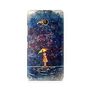 Mobicture Girl Art Premium Printed Case For Nokia Lumia 640