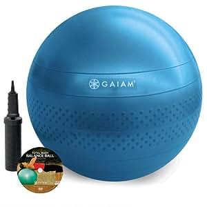 Gaiam Total Body Balance Ball Kit (75cm)