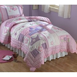 Where I buy Princess Twin Quilt with Pillow Sham reviews