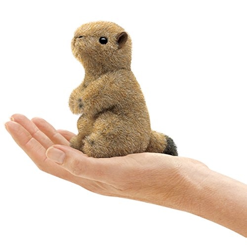 Folkmanis Mini Prairie Dog Finger Puppet