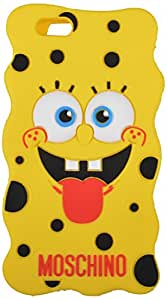 FASHION iPhone 6 Cartoon Shaped Back Cover with Teddy Soft Feel (Yellow)