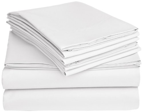 Pinzon Microfiber Sheet Set, Queen With 4 Pillowcases, Ivory front-1031529