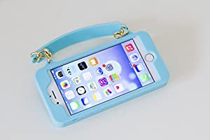 Pursecase for iPhone6 / iPhone6s (青)【日本正規版】夏にオススメ アメリカで人気のバック型 カード収納ホルダー付き スマホケース カリフォルニア発 ハリウッドセレブ御用達