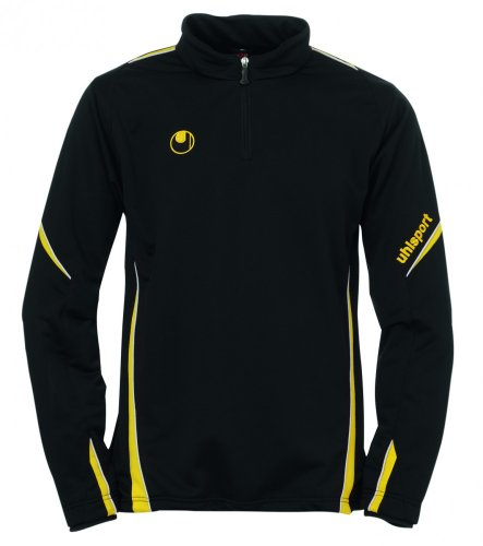 uhlsport-ziptop-team-1-4-todo-el-ano-unisex-color-varios-colores-negro-amarillo-tamano-xxl
