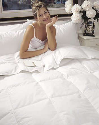 Tahoe Medium Weight White Down Comforter White