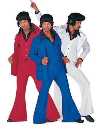 Herren-Kostüm Dancing-King, blau, Gr. 50-52