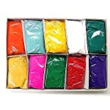 Festival Colors (Rangoli) Holi High Quality Colors (Pack of 10) ~ Bharat Online