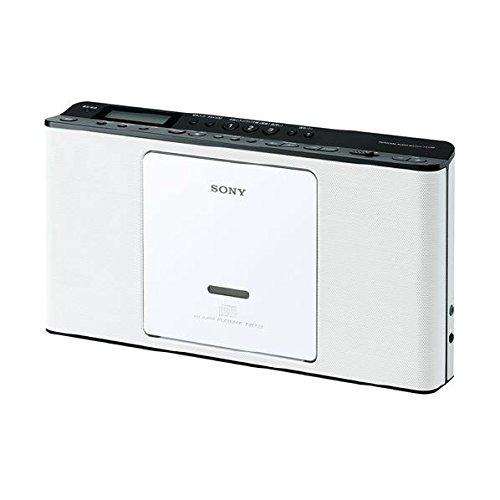 ソニー CD対応ラジオ(ホワイト)SONY ZS-E80-W