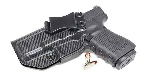 Concealment Express IWB KYDEX Holster: fits Glock 19/23/32 (Carbon Fiber Black - Left Hand) (Carbon 15 Stock compare prices)