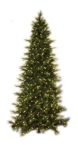 GKI Bethlehem Lighting Pre Lit 9 Foot PE PVC Christmas Tree With 700 Clear Mi