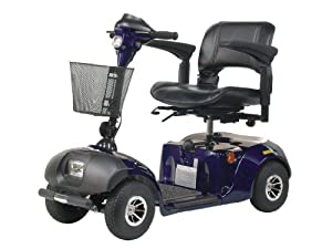 Drive Medical S45002GT Daytona GT 4-Wheel Compact Scooter - Blue