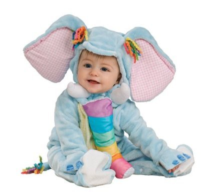 Blue Elephant Costume - Unisex Animal Baby Costume