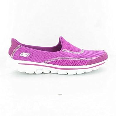 Skechers - 13590 Go Walk 2 Shoes, Raspberry, 6 UK Adult