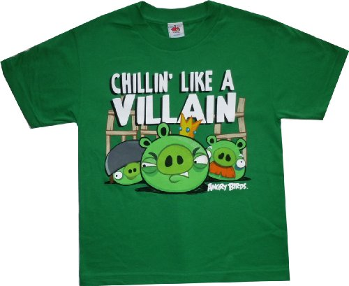 Angry Birds Villain Youth T-shirt M
